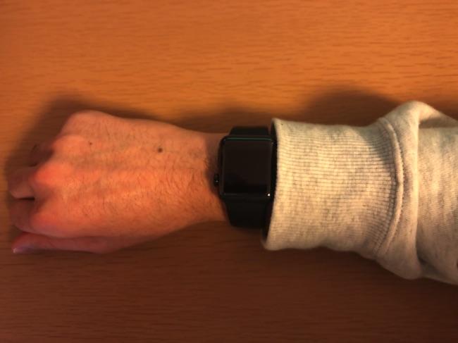 Apple Watch時刻確認1