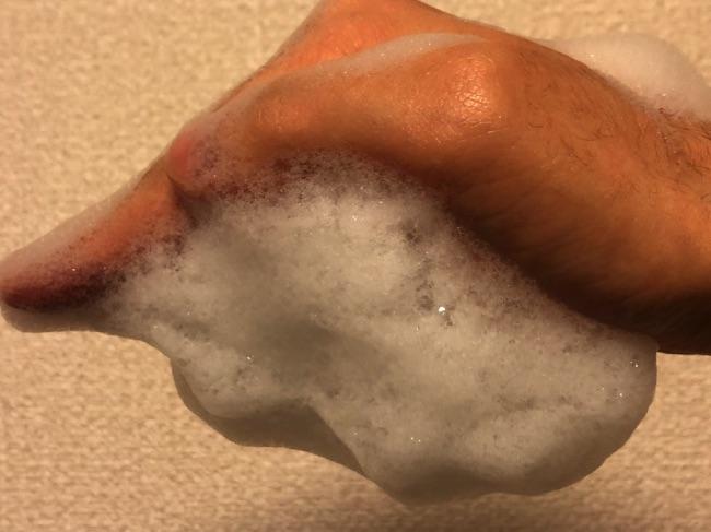 ZIGENシャンプー泡3