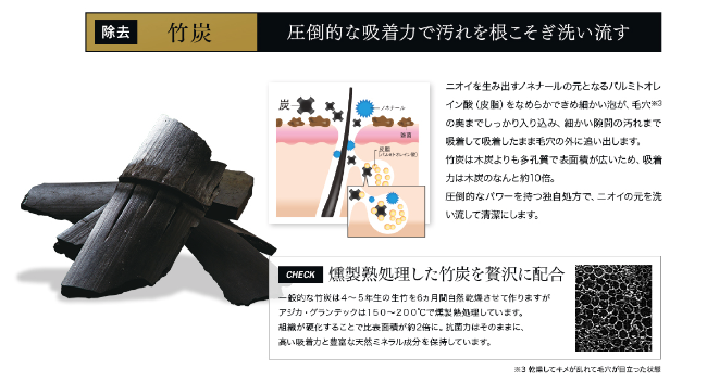 AGICAサイト写真-竹炭説明