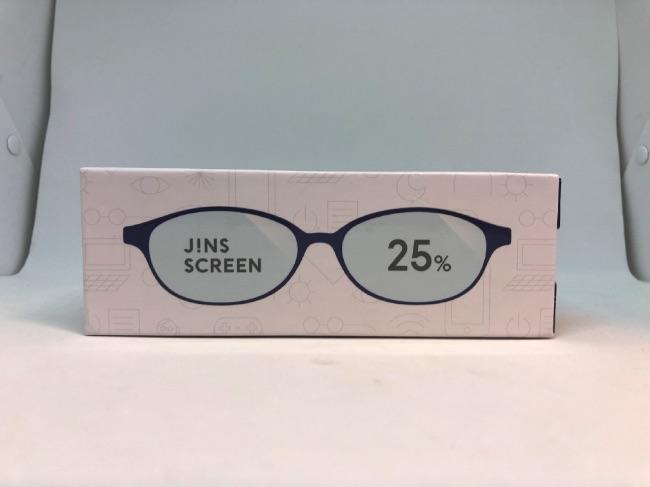JINS SCREENパッケージ表面