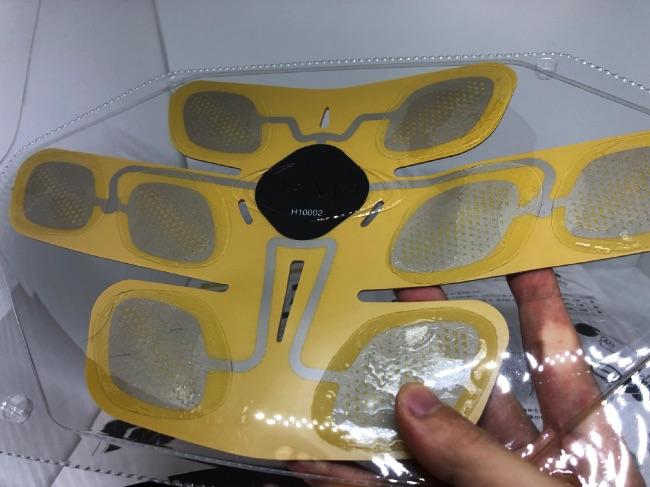 3D Shaperを専用ケースに格納した裏側