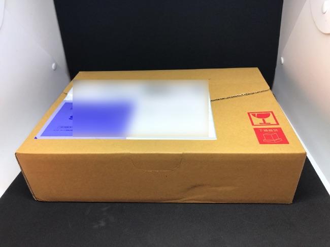 デオシークの配送箱
