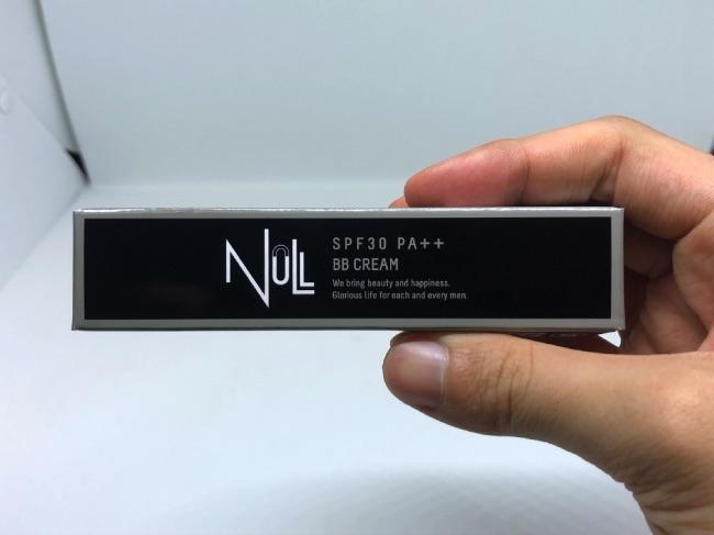NULLBBクリームパッケージ