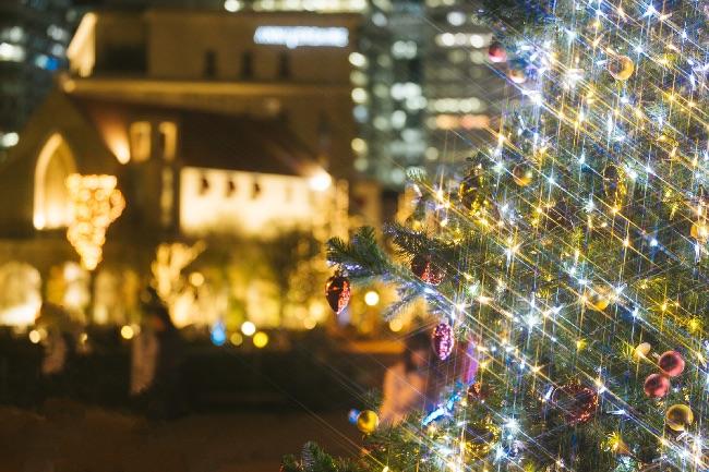 クリスマスっぽい夜景