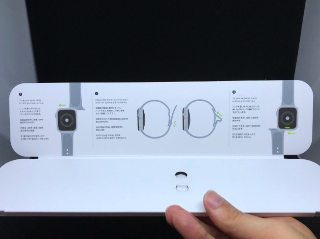 Apple Watch Series4のバンド開封