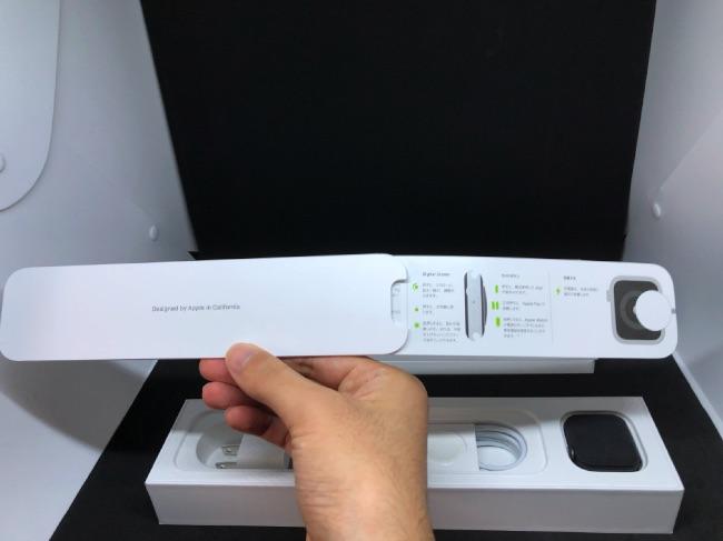 Apple Watch Series4の説明書すらおしゃれに収納