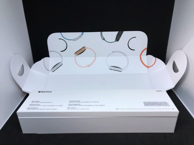 Apple Watch Series4のパッケージは風呂敷状だった!