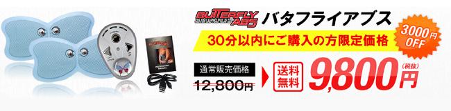 バタフライアブス公式サイトのお得価格