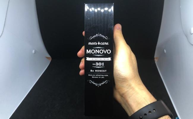 MONOVO ヘアリムーバークリームパッケージ