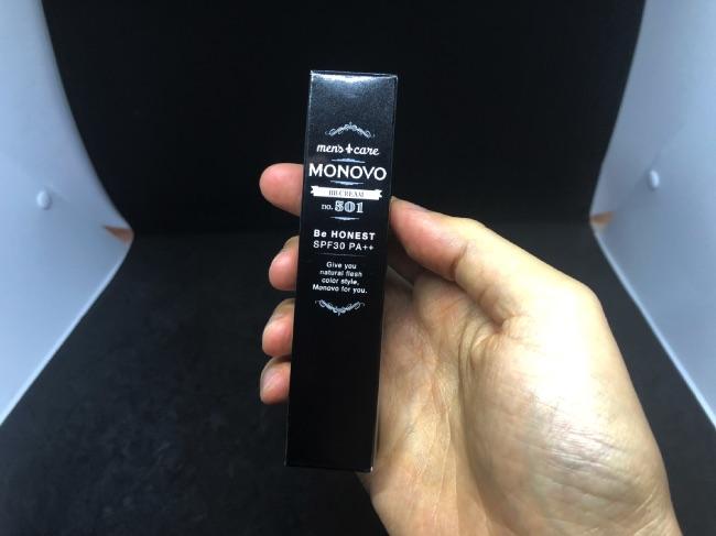 MONOVO BBクリームのパッケージ
