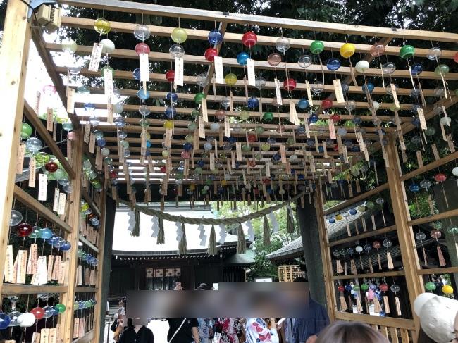 川越神社実際の写真