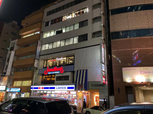 AILE上野店が入るビル