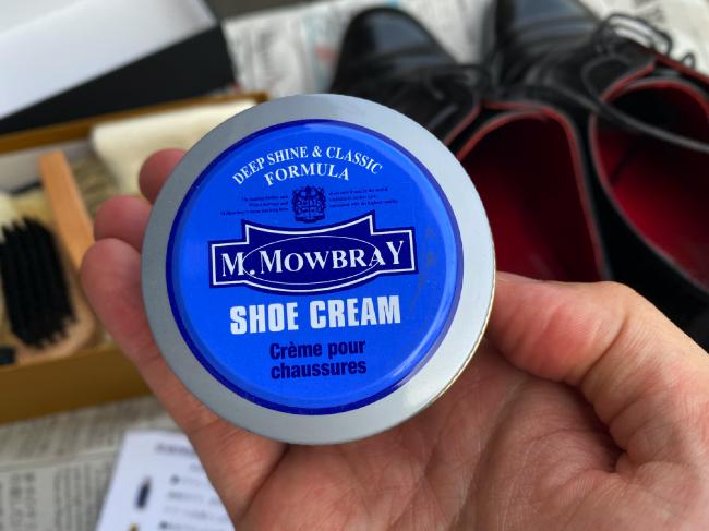 銀座大賀靴工房のエムモウブレイのシュークリーム